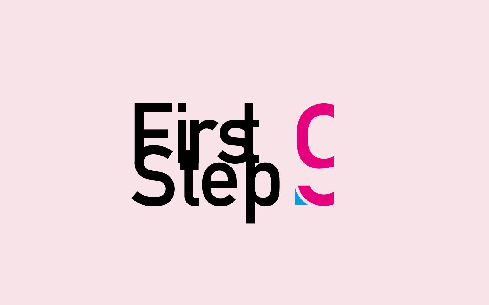 Logo della edizione di First Step9, progetto dello studio di grafica Diadestudio di Arco Tn, vincitore del contest