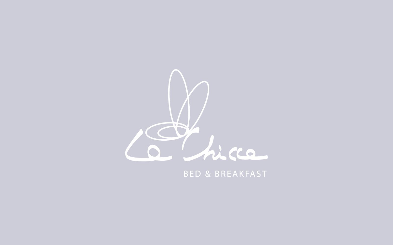 dettaglio colore del progetto del marchio per B&B realizzato dalla agenzia grafica Diade studio di Trento