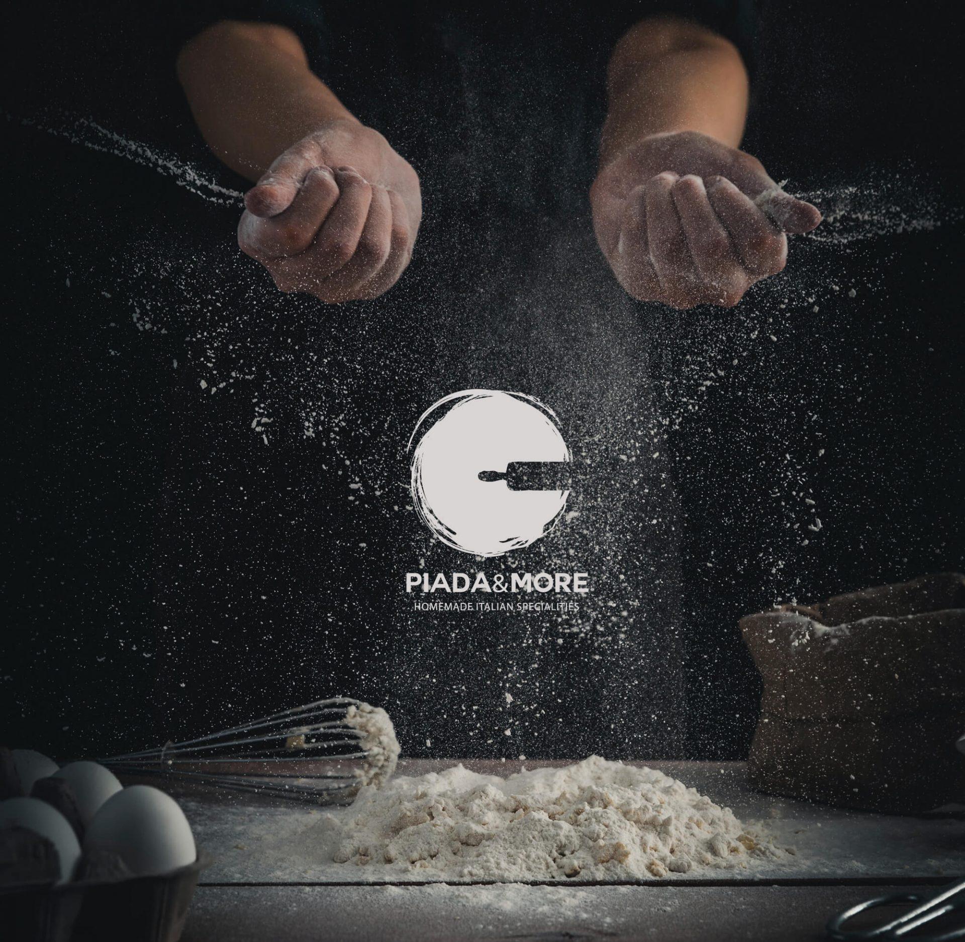 progetto del marchio e brand identity per ristorante, creato da diadestudio agenzia grafica arco trento