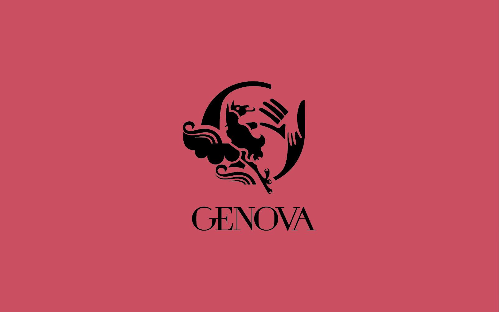 progetto del marchio per genova-contest, creato da diadestudio agenzia grafica arco trento