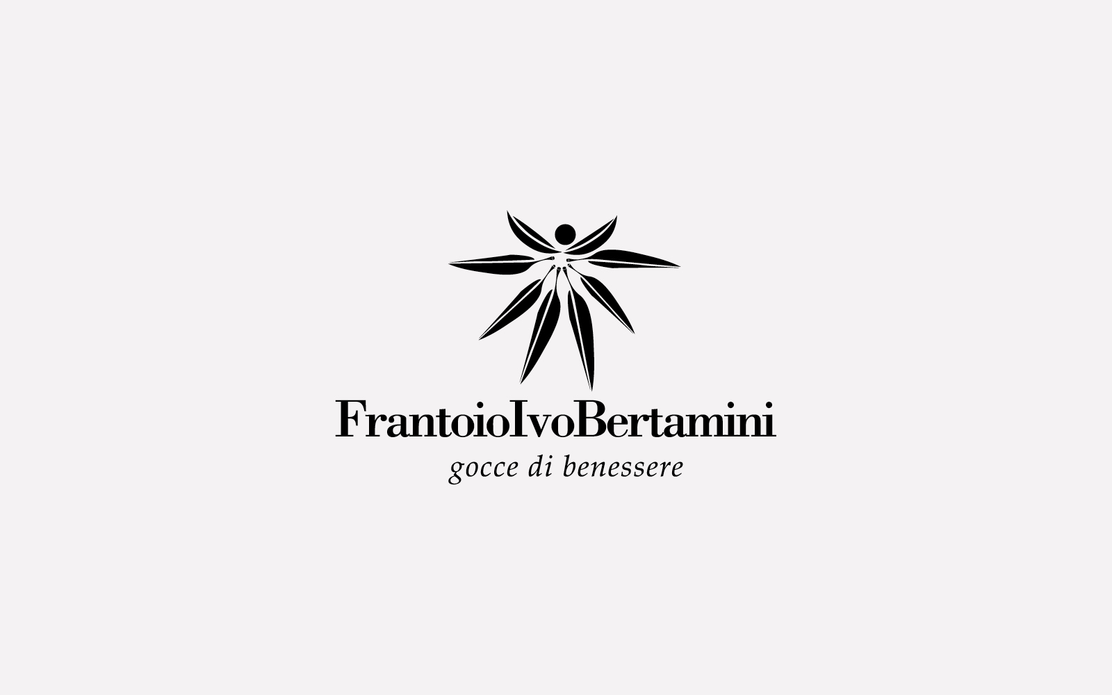 progetto del marchio per bottiglie olio frantoio bertamini, creato da diadestudio agenzia grafica arco trento