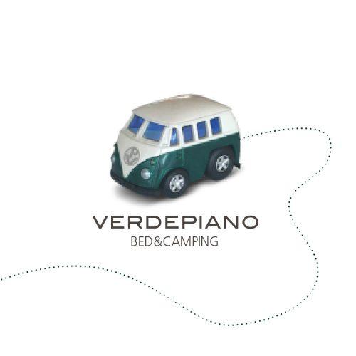 progetto per marchio verdepiano, versione 3D con mockup, progetto graico diadestudio arco di trento