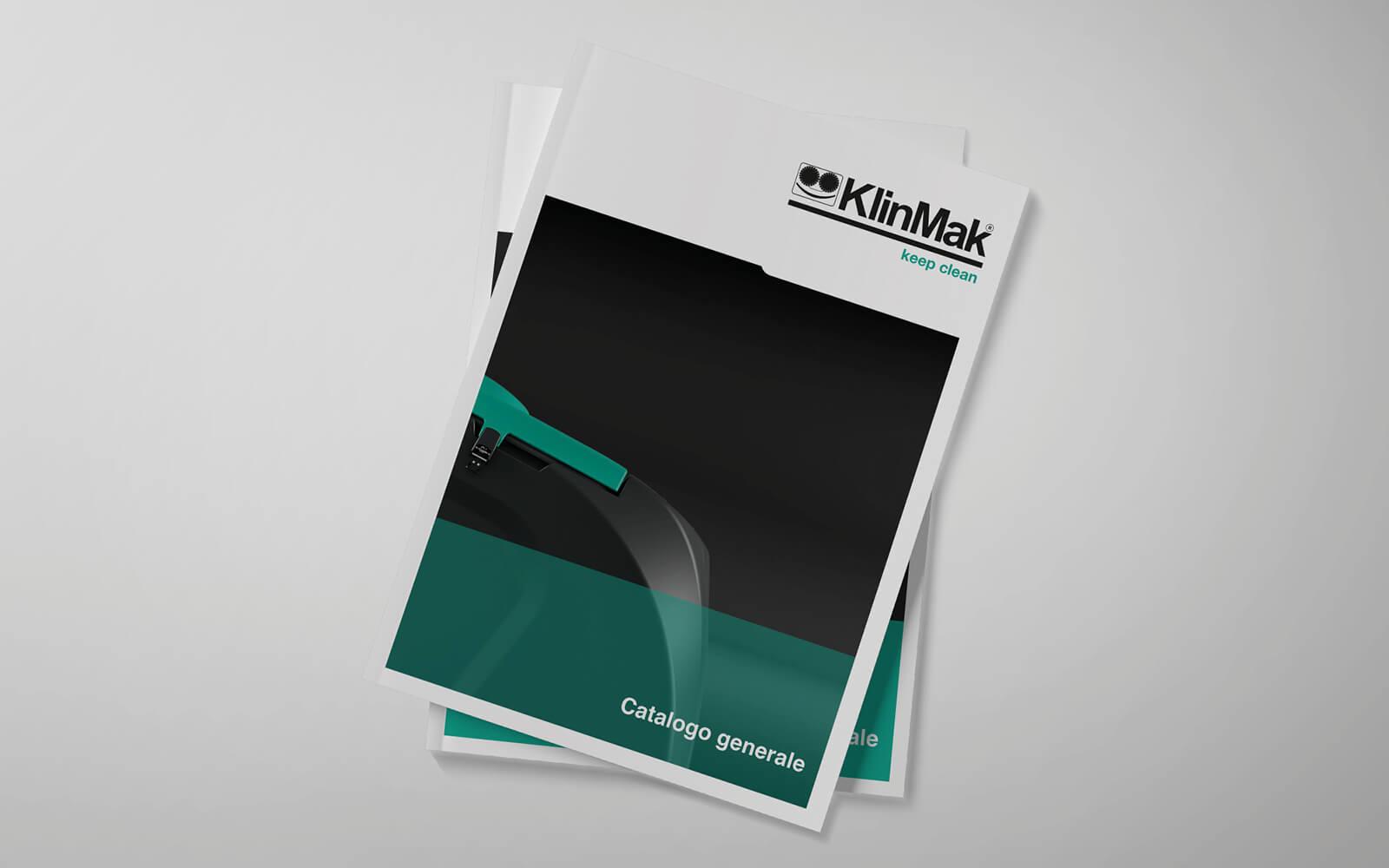 copertina catalogo prodotti pulizia progetto della agenzia di comunicazione diade studio arco di trento