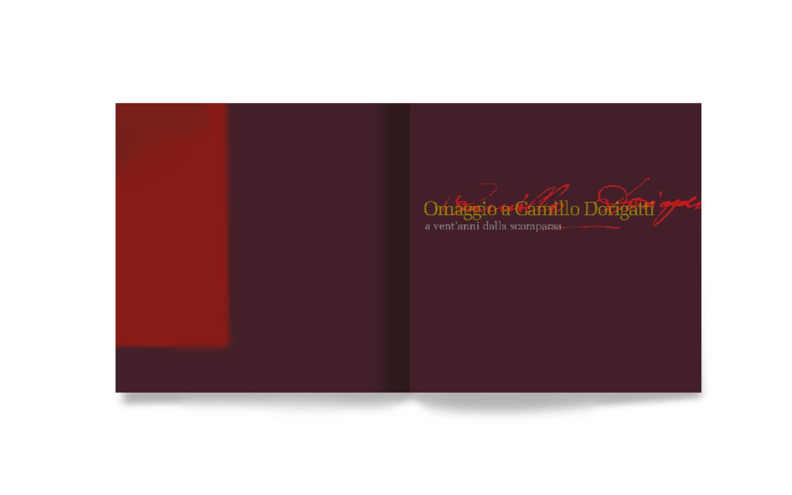 dettaglio pagine libretto interno per juwel box e cd -Camillo Dorigatti-, progetto grafico diade studio arco trento