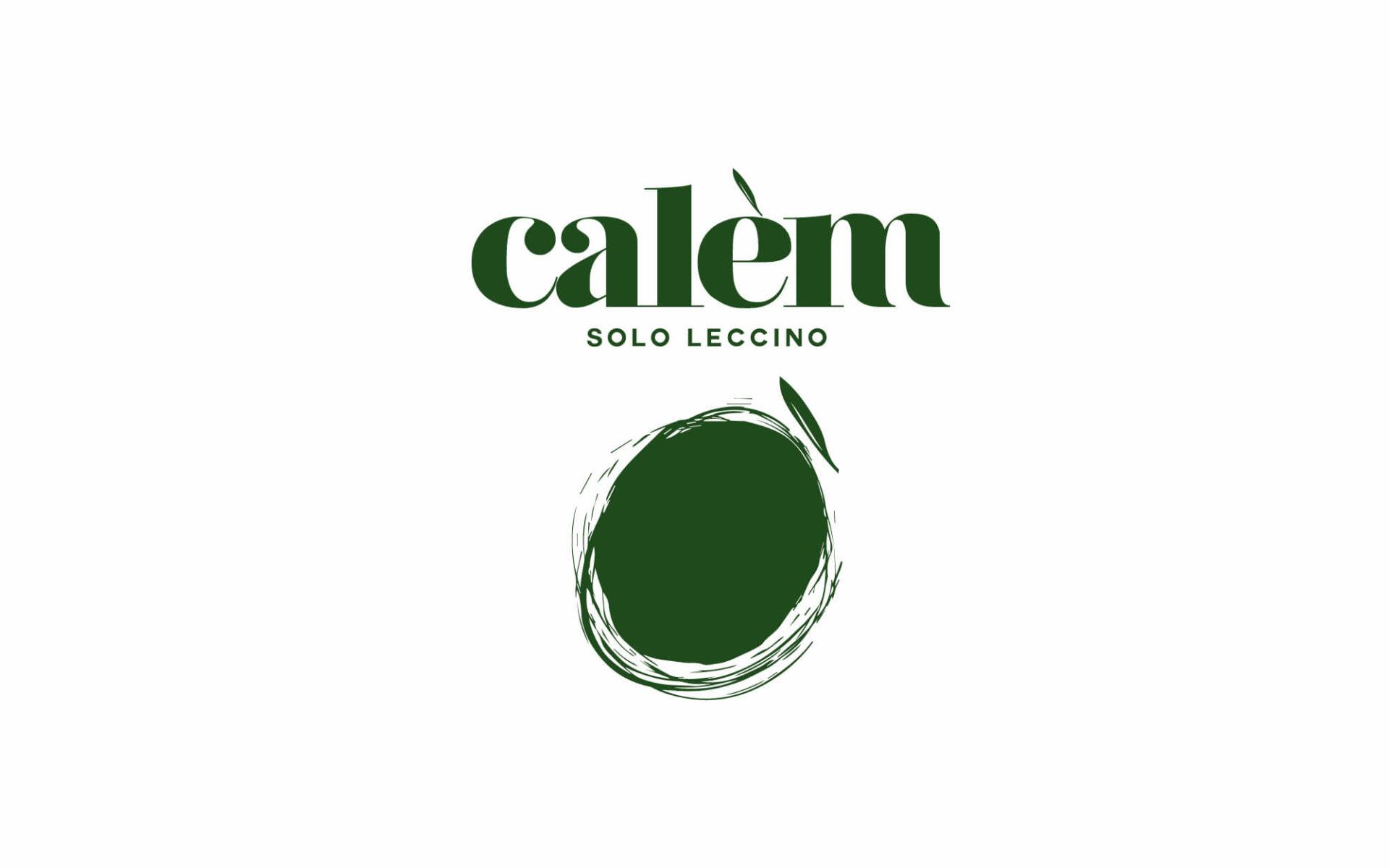 studio del marchio e etichetta olio calem, progetto grafico diadestudio agenzia grafica arco trento