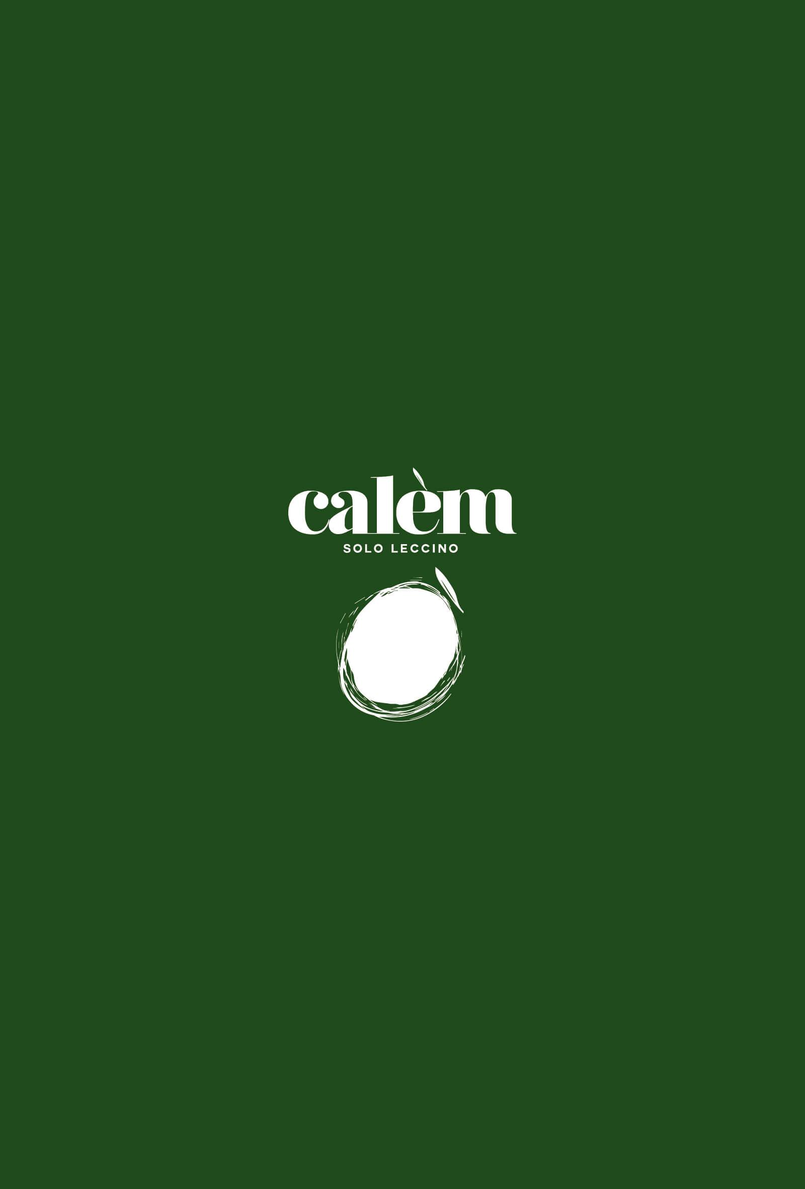 studio del marchio olio calem, progetto grafico diadestudio agenzia grafica arco trento