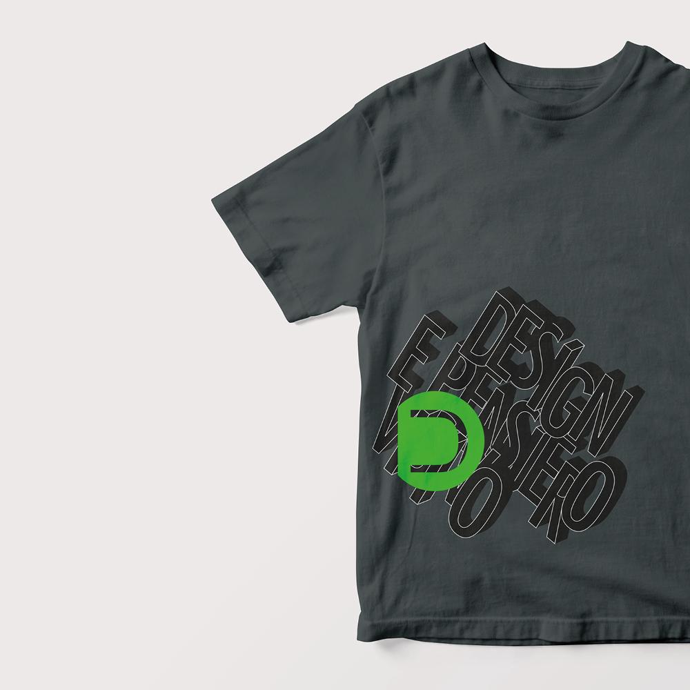 progetto per moderne t-shirt in cotone realizzate dallo studio grafico diade arco di trento