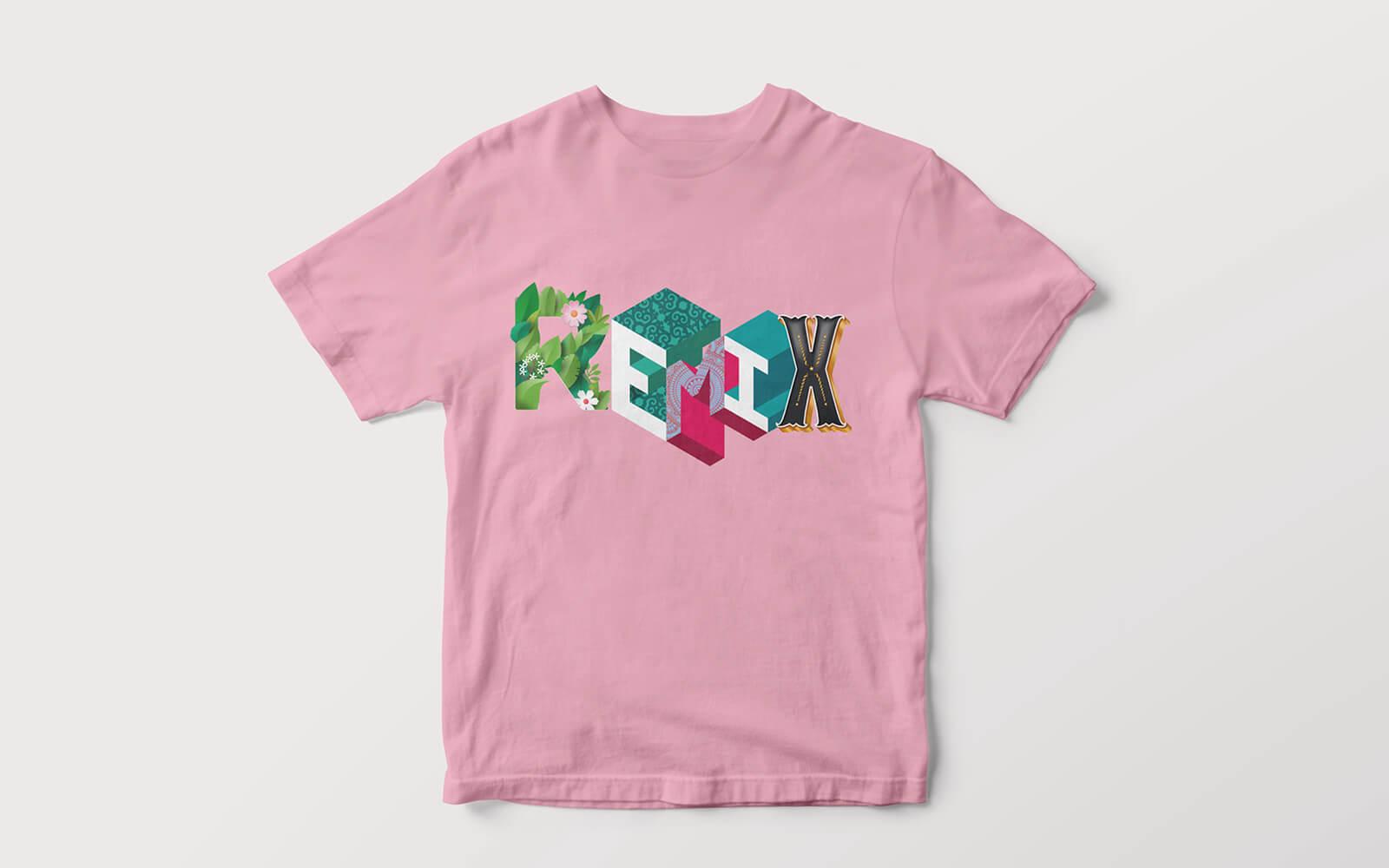 t-shirt illustrata progettata dallo studio di comunicazioen diadestudio, per notte di fiaba edizione 2020